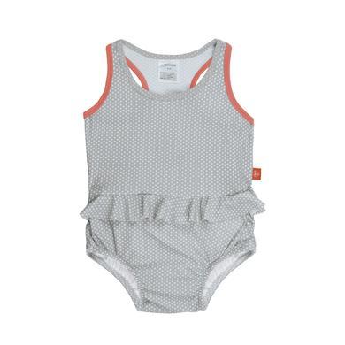 Minigirlbademode - LÄSSIG Girls Splash Fun Tanksuit grey - Onlineshop Babymarkt