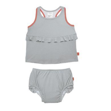 Minigirlbademode - LÄSSIG Girls Splash Fun Tankini grey - Onlineshop Babymarkt