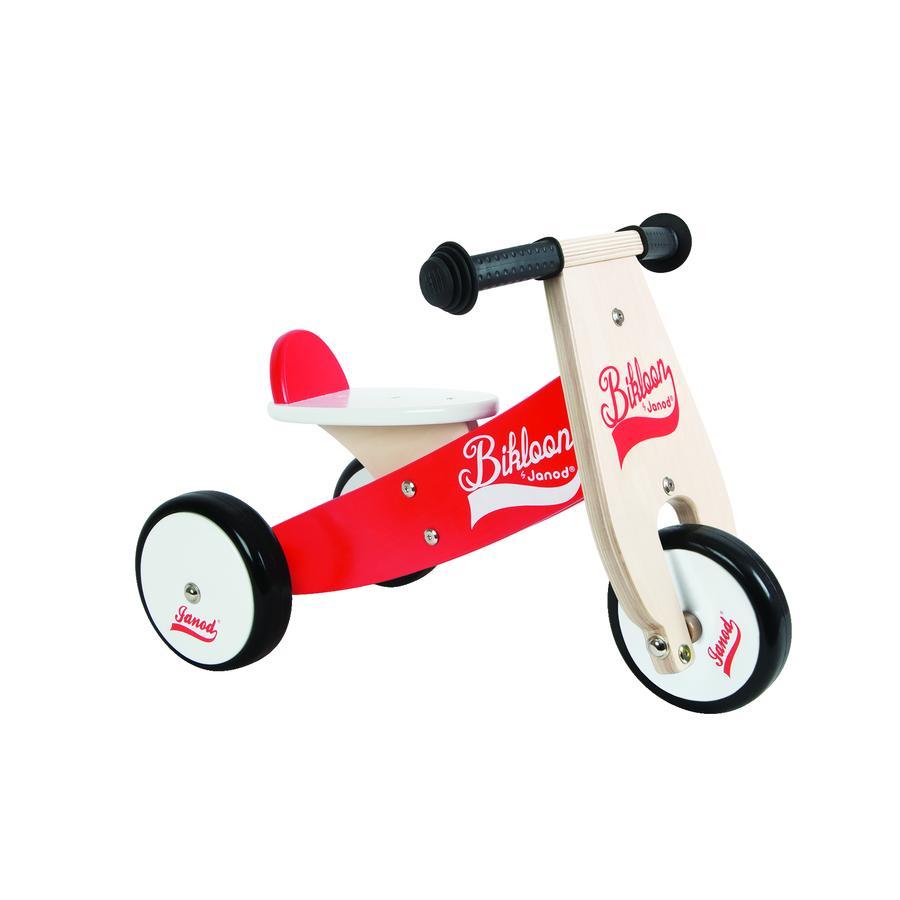 Janod® Bikloon Holz Laufrad, rot