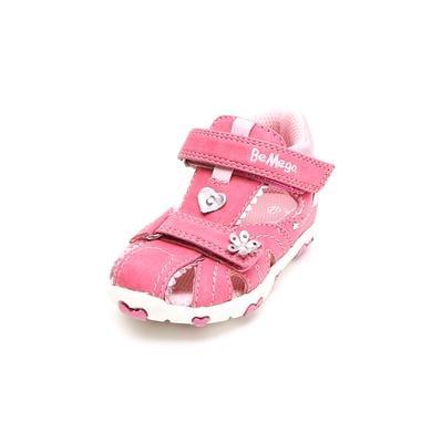 Be Mega Footwear Girls Sandale pink rosa pink Gr.Babymode (6 24 Monate) Mädchen