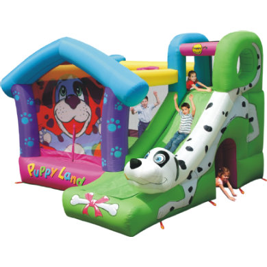 happyhop Bouncy Castle - Puppyland