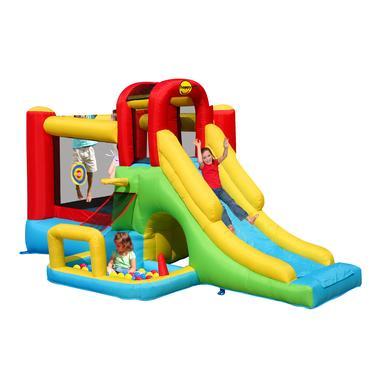 happyhop Bouncy castle - Hračkový svět Phantasia se skluzavkou