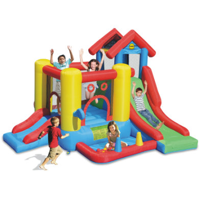 happyhop Bouncy castle - Playcenter 7 in 1