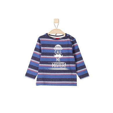 s. Olive r Chlapecké oblečení Longlseeve blue multi color ed stripes