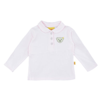 Steiff Girls Poloshirt barely pink rosa pink Gr.Babymode (6 24 Monate) Mädchen
