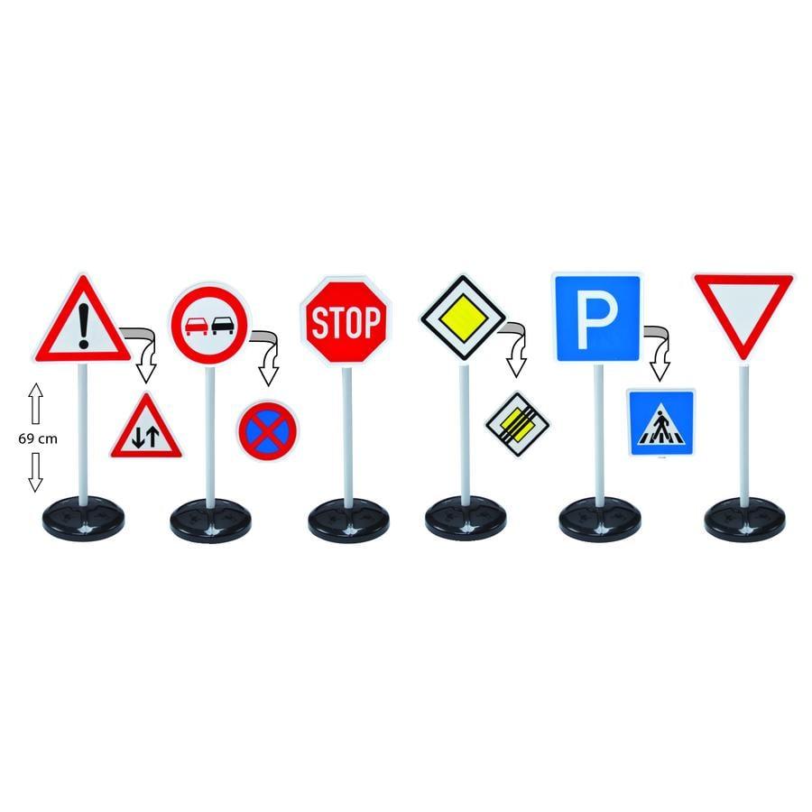 BIG Verkehrsschilder Signs Mega Set
