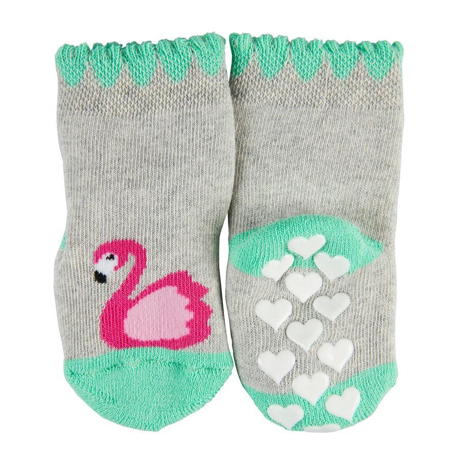 FALKE ABS Socken Flamingo storm grey