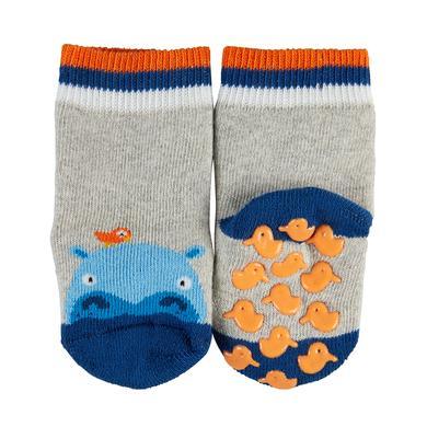 FALKE ABS Socken Hippo storm grey grau Gr.Babymode (6 24 Monate) Unisex