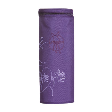 Lässig  Casual Bottle Holder Single Vertical dark purple - fialová