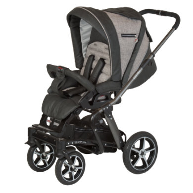 Hartan Kinderwagen Sky GTS crushed tweed (848) frame platina