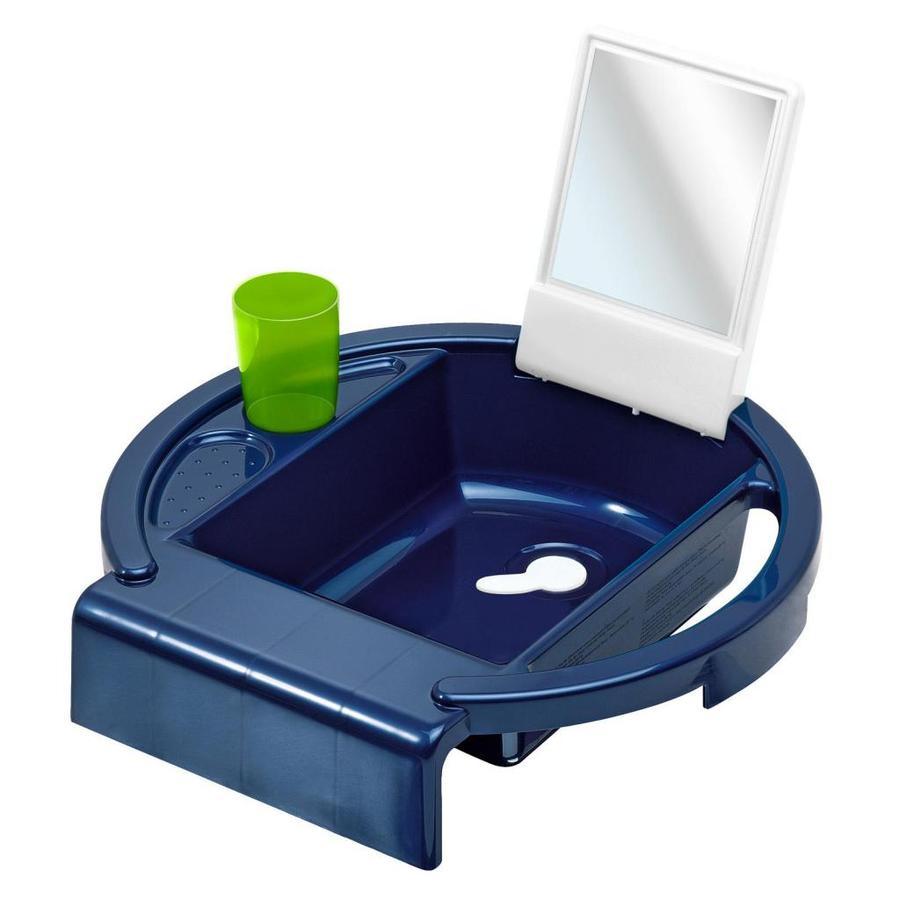 Rotho Babydesign Kinderwaschbecken Kiddy Wash perl blue weiß