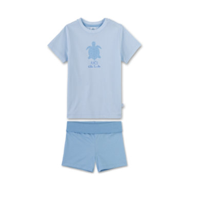 Miniboyswaeschenachtwaesche - Sanetta Boys Shorty 2–teilig blau - Onlineshop Babymarkt