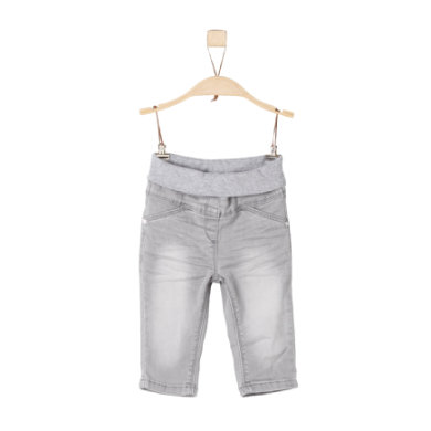 s.Oliver Hose grey denim stretch grau Gr.Babymode (6 24 Monate) Unisex
