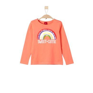 s.Oliver Girls Longlseeve orange Gr.Kindermode (2 6 Jahre) Mädchen