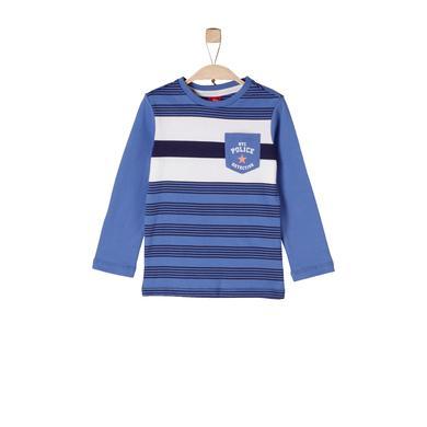 Miniboyoberteile - s.Oliver Boys Longlseeve blue stripes - Onlineshop Babymarkt