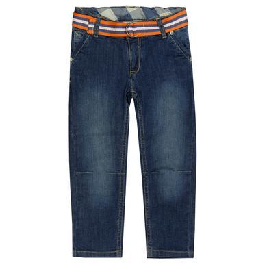 Steiff Boys Jeanshose washed blue denim blau Gr.Babymode (6 24 Monate) Jungen
