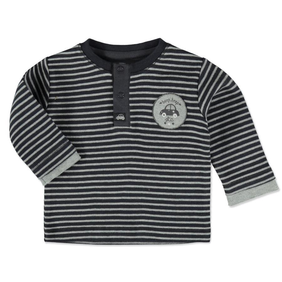 STACCATO Boys Shirt grey blue Streifen