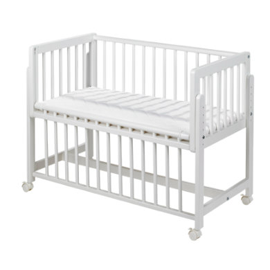 Kinderbetten - geuther Bett an Bett Betty weiß  - Onlineshop Babymarkt