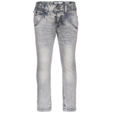 name it  Boys Thue light grey denim - šedá - Gr.104
