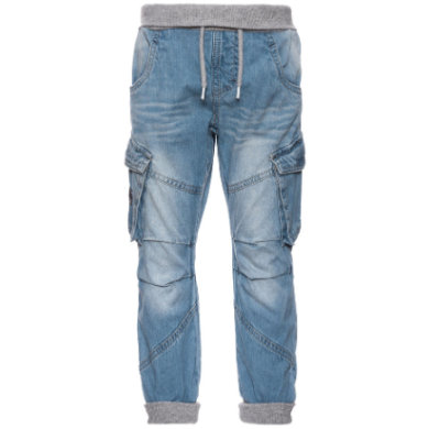 name it  Boys Tonas light blue denim - modrá - Gr.86