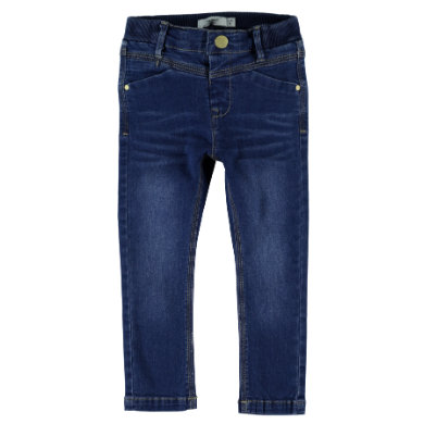 name it  Boys Titte medium blue denim - modrá - Gr.104