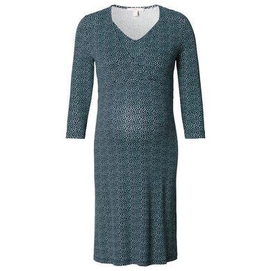 Schwangerschaftsmode für Frauen - Esprit Stillkleid alloverprint Night Blue blau Damen  - Onlineshop Babymarkt