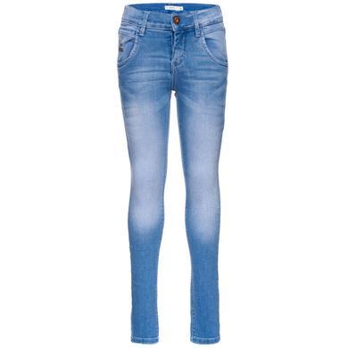 Minigirlhosen - name it Tarzan Girls medium blue denim – blau – Gr.Kindermode (2 – 6 Jahre) – Mädchen - Onlineshop Babymarkt