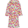 Playshoes Fleece-Bademantel Blumenmeer