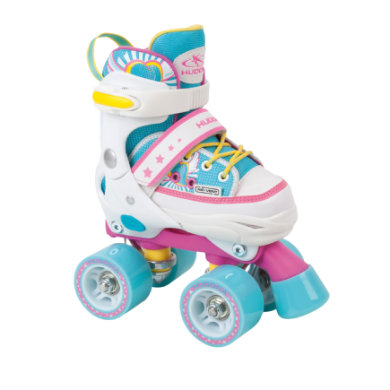 Hudora ® Skate Wonders Rollschuh verstellbar, Gr. 28 31