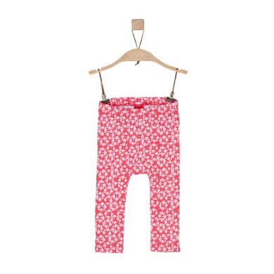 s.Oliver Girls Leggings pink rot Gr.Newborn (0 6 Monate) Mädchen