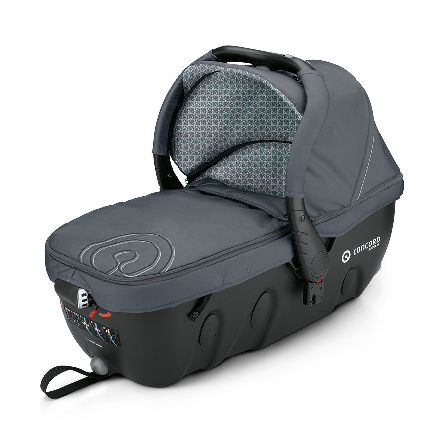 CONCORD Babywanne Sleeper 2.0 Steel Grey