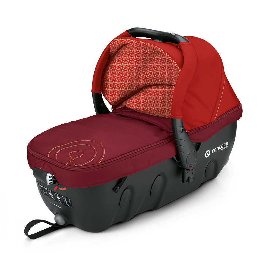 CONCORD Babywanne Sleeper 2.0 Flaming Red