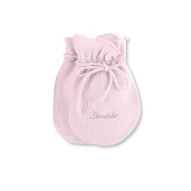 Babyaccessoires - Sterntaler Girls Kratzfäustel Strick rosa - Onlineshop Babymarkt