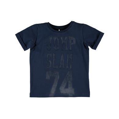 name it Boys T-Shirt Jakob dress blues - blau - Gr.104 - Jungen
