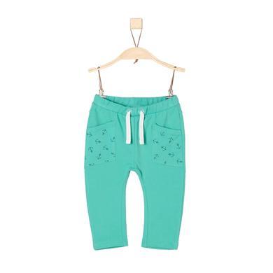 Miniboyhosen - s.Oliver Boys Jogginghose turquoise - Onlineshop Babymarkt