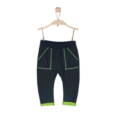 Miniboyhosen - s.Oliver Boys Jogginghose dark blue melange - Onlineshop Babymarkt