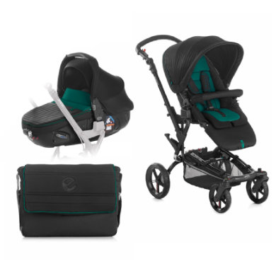 JAN� Buggy Epic inclusief Reiswieg Matrix Light 2 Sequoia