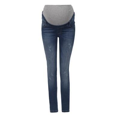 Schwangerschaftsmode für Frauen - bellybutton Jeans mit Überbauchbund blau Damen  - Onlineshop Babymarkt
