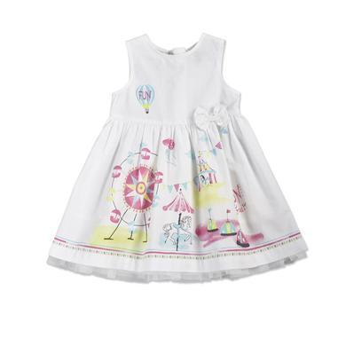 Blue Seven Girls Kleid Jahrmarkt weiß Mädchen
