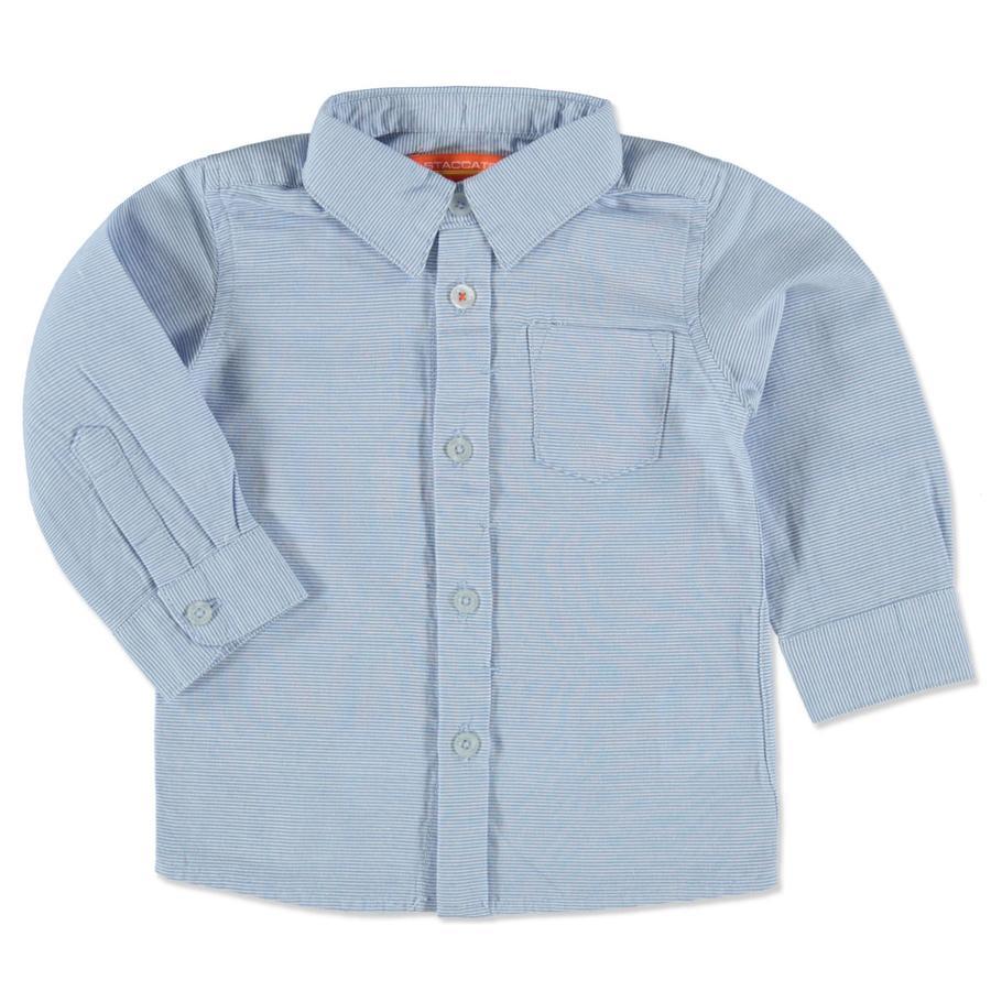 STACCATO Baby Boys Hemd blue Streifen