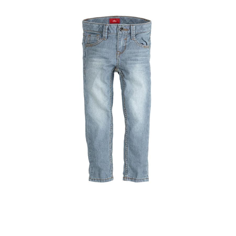 s.Oliver Boys Jeans blue denim stretch
