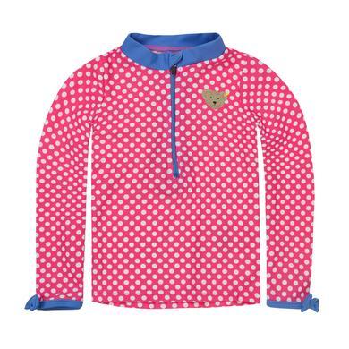 Steiff Girls UV Schutz Shirt Punkte pink rosa pink Gr.Babymode (6 24 Monate) Mädchen