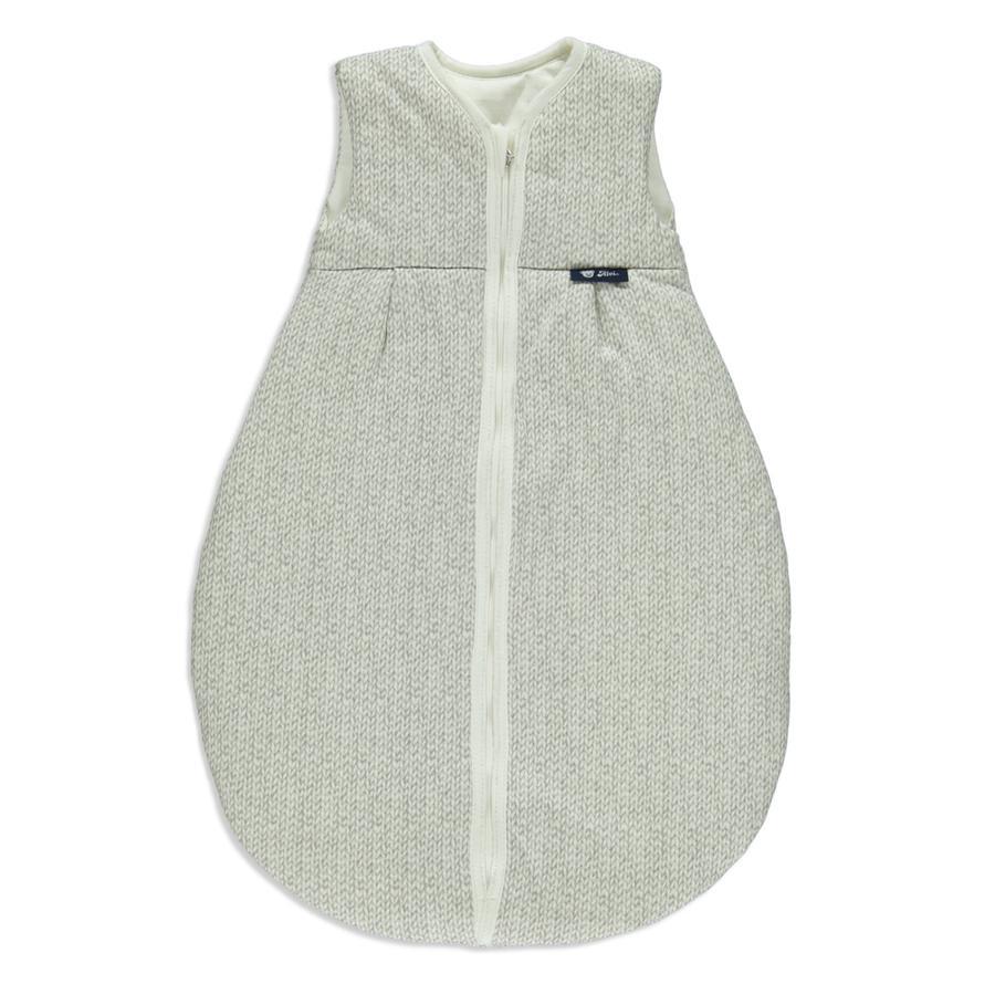 Alvi Gigoteuse toutes-saisons tricotée, Jersey argent, 70-110 cm