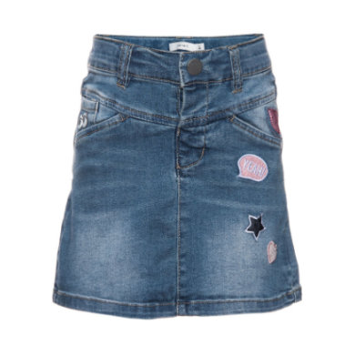 Minigirlroeckekleider - name it Girls Jeansrock Acille medium blue denim - Onlineshop Babymarkt