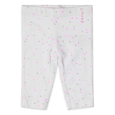 Esprit Girls Leggings white weiß Gr.Newborn (0 6 Monate) Mädchen