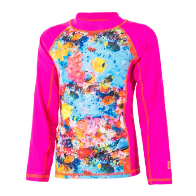 Image of COLOR KIDS Schwimmshirt Thera Pink Glow