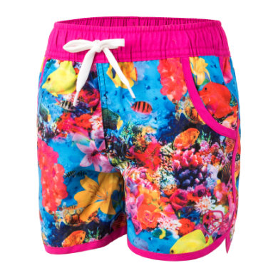 Image of COLOR KIDS Girls Beach Shorts Tove AOP