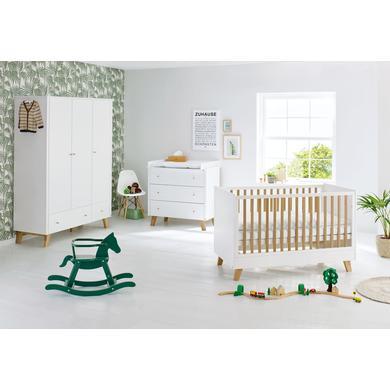 Babyzimmer - Pinolino Kinderzimmer Pan 3 türig breit weiß  - Onlineshop Babymarkt
