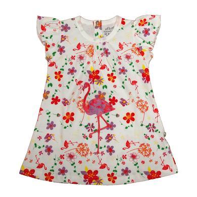 Minigirlroeckekleider - EBI EBI Fairtrade Kleid allover weiß - Onlineshop Babymarkt