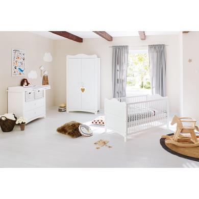 Babyzimmer - Pinolino Kinderzimmer Florentina 2 türig breit weiß  - Onlineshop Babymarkt